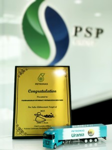 PETRONAS LUBRICANTS SALES ACHIEVEMENT TARGET OF 2015